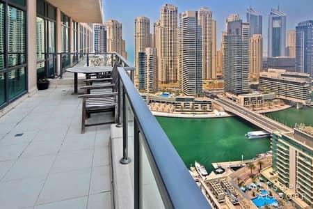 2 Bedroom Apartment for Sale in Dubai Marina, Dubai - 2 Bed Plus Study | Marina View | Vacant