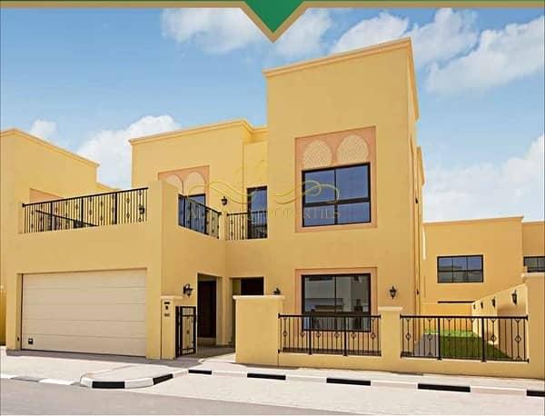 2 4 Bedrooms Villa for sale-Nad Al Sheba