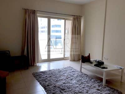 شقة 1 غرفة نوم للايجار في الروضة، دبي - Semi-furnished 1 Bed Apt in Al Ghozlan at The Greens