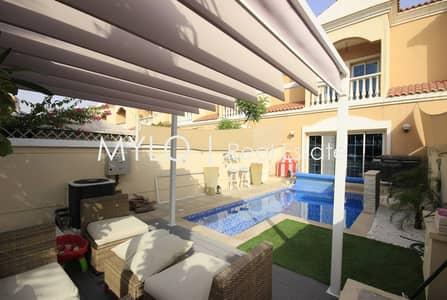 تاون هاوس 2 غرفة نوم للبيع في مثلث قرية الجميرا (JVT)، دبي - Fully Upgrade Private Pool Owner Occupied