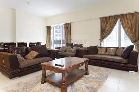 فلیٹ 2 غرفة نوم للايجار في الخليج التجاري، دبي - Spacious  2 BR   on High Floor   Balcony