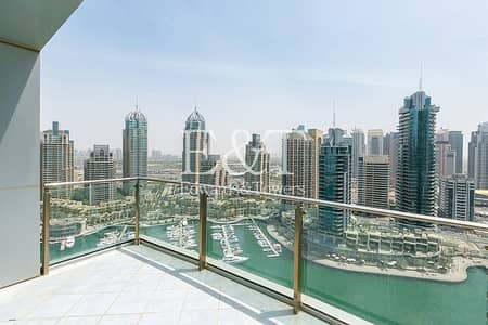 3 Bedroom Flat for Sale in Dubai Marina, Dubai - High Floor with Full Marina View and VOT