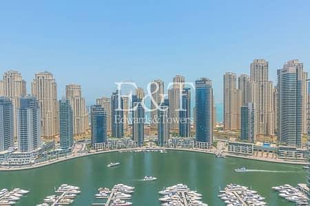 4 Bedroom Flat for Sale in Dubai Marina, Dubai - High Floor with Full Stunning Marina View