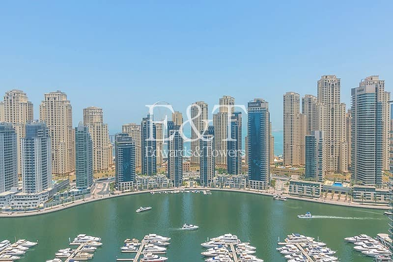 High Floor with Full Stunning Marina View