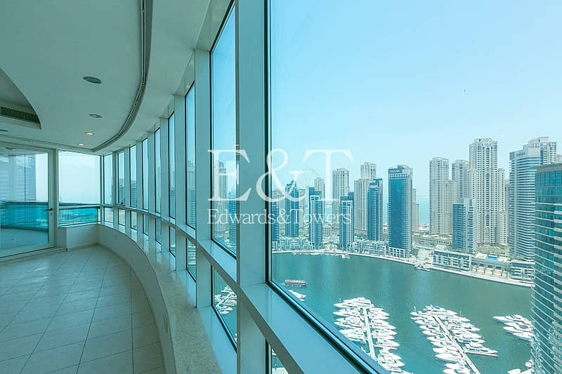 2 High Floor with Full Stunning Marina View