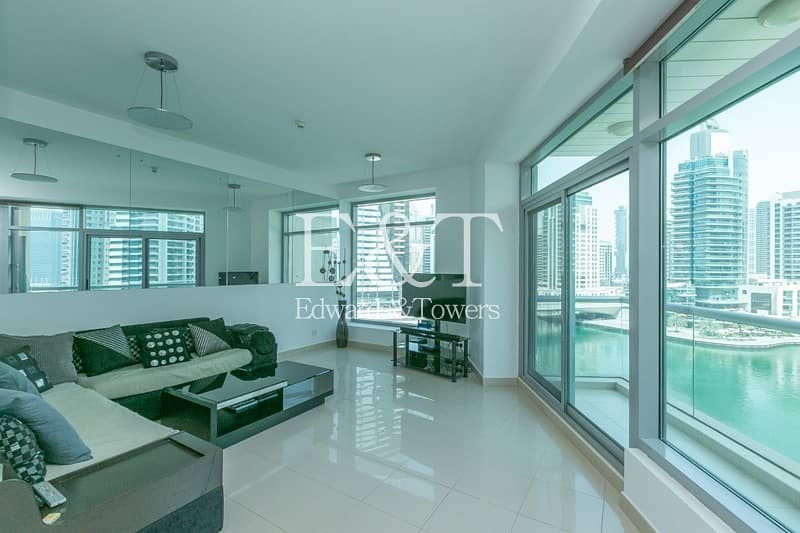 2 Furnished or Unfurnished with Full Marina View