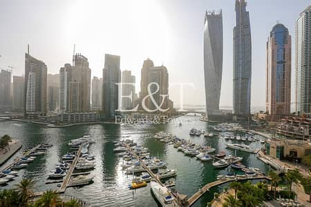 3 Bedroom Apartment for Sale in Dubai Marina, Dubai - Exclusive: Full Marina and Sea View from Mid Floor