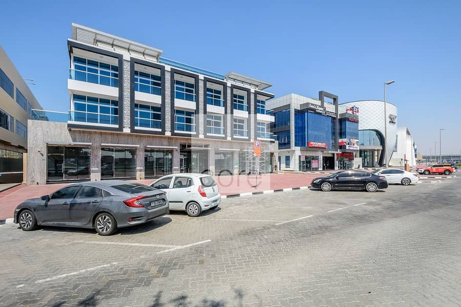 10 Fitted Office with Sheikh Zayed Rd view