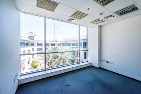 مکتب  للايجار في القوز، دبي - Furnished Fitted Office on Low Floor | GDP