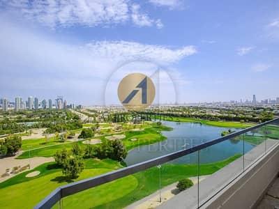 بنتهاوس 4 غرفة نوم للبيع في التلال، دبي - Full Golf View Brand New 4 BR Duplex Penthouse