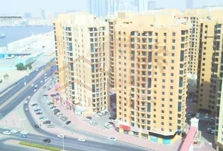 1 Bedroom Flat for Rent in Ajman Downtown, Ajman - //BIG SIZE  !! 1 BHK SEA VIEW CLOSED KITCHEN BEAUTIFUL SPACIOUS AL KHOR TOWER