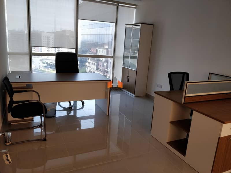 CAPACIOUS 200 sqft OFFICE SPACE AVAILABLE AT OUD METHA | Bayut com