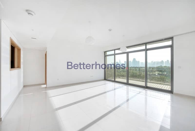 Golf Course View | Unfurnished | Maids