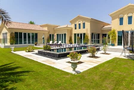 5 Bedroom Villa for Rent in Arabian Ranches, Dubai - Fully Furnished | Golf Course View | Private Pool | Upgraded