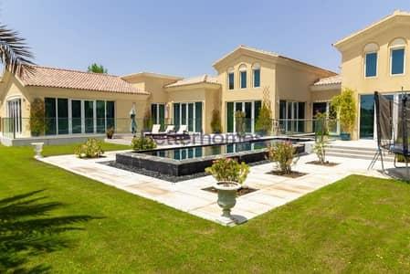 فیلا 5 غرفة نوم للايجار في المرابع العربية، دبي - Fully Furnished | Golf Course View | Private Pool | Upgraded