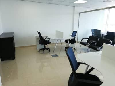 مکتب  للايجار في واحة دبي للسيليكون، دبي - Furnished & Beautifully Decorated Office | Dubai Silicon Oasis