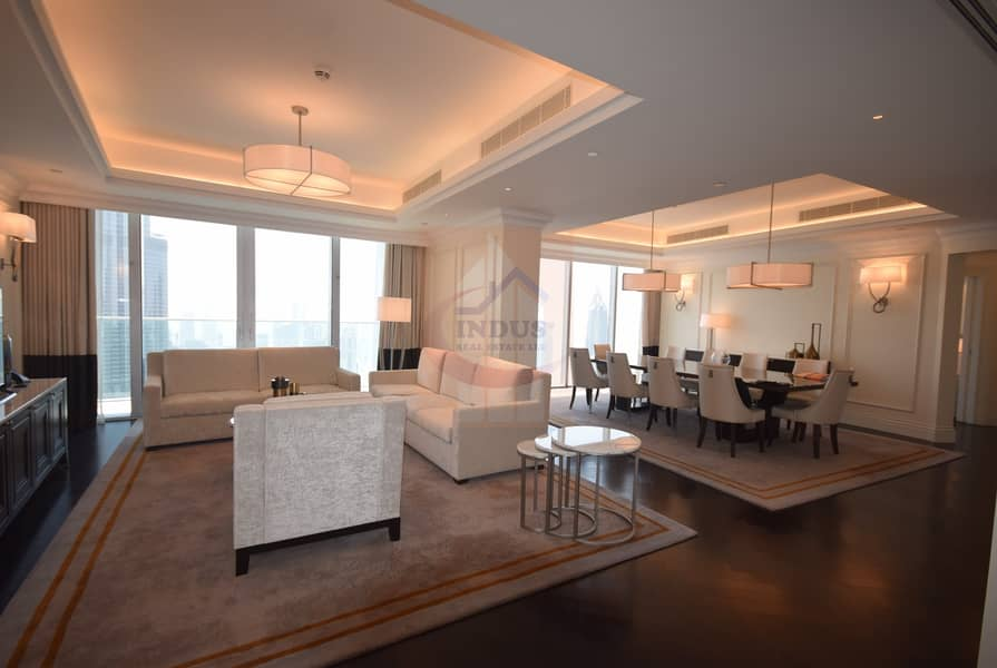 Fully Furnished | Burj Khalifa and Fountain Views