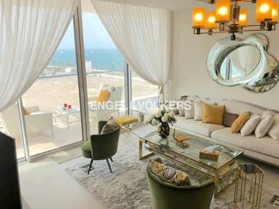 فلیٹ 1 غرفة نوم للايجار في نخلة جميرا، دبي - Exquisite and Luxury | Furnished by Fendi Casa