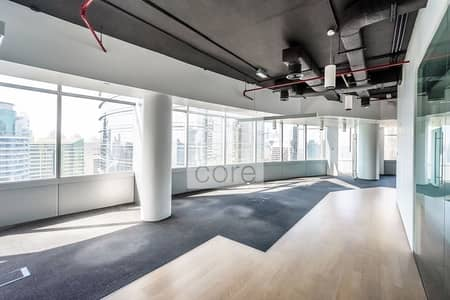 Office for Rent in Jumeirah Lake Towers (JLT), Dubai - Half Floor | Fitted with Partitions | DMCC