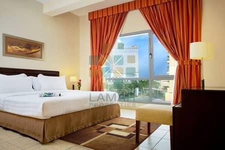 شقة فندقية 1 غرفة نوم للايجار في البرشاء، دبي - 8000 monthly includes utility fully furnished