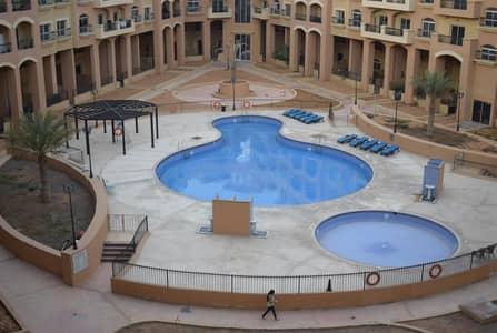 استوديو  للايجار في قرية جميرا الدائرية، دبي - Pool View Studio in Diamond Views 3