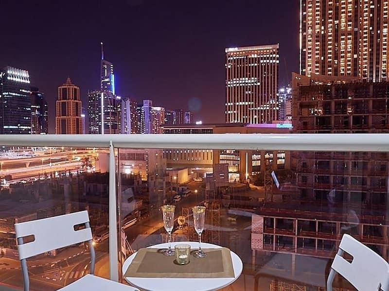 Lovely Fully Furnished 1 BR Apt I Huge Balcony I Chiller Free I Dubai Marina