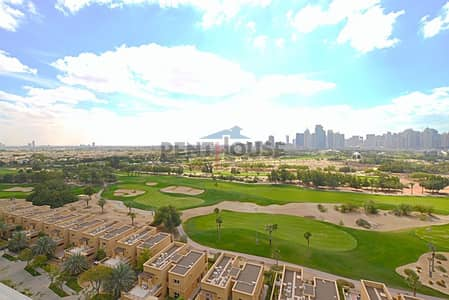 3 Bedroom Apartment for Sale in The Views, Dubai - Golf course facing apartment on higher floor