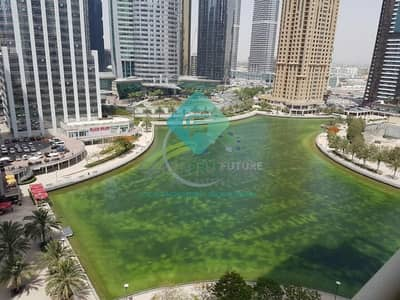 1 Bedroom Apartment for Rent in Jumeirah Lake Towers (JLT), Dubai - FULL LAKE VIEW ONE BEDROOM NEAR TO JLT METRO.