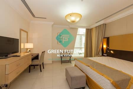 1 Bedroom Flat for Rent in Al Barsha, Dubai - FULLY FURNISHED 1 BHK BEHIND MOE JUST 51 K BY 6 PAYMENTS