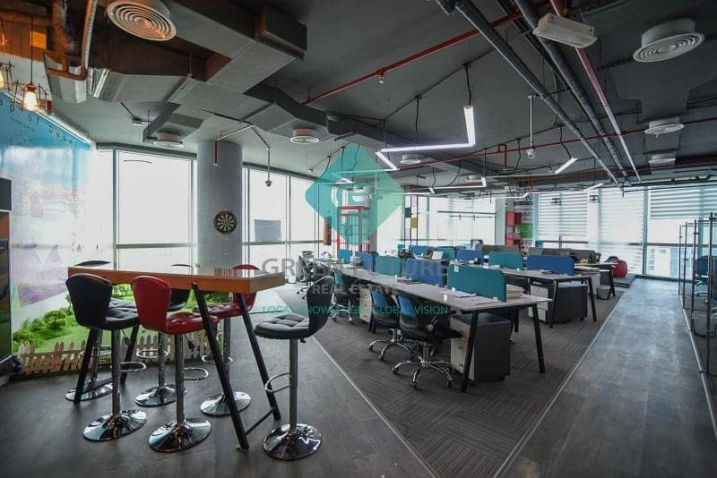 Fully Fitted Office Space | Al Barsha Heights