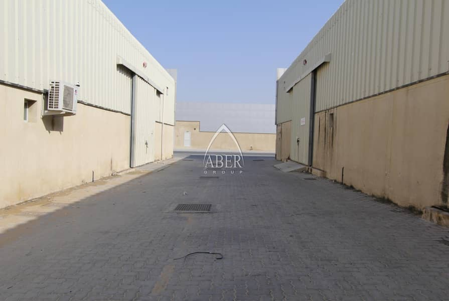 ONE MONTH FREE for warehouse in Industrial 18 Sharjah
