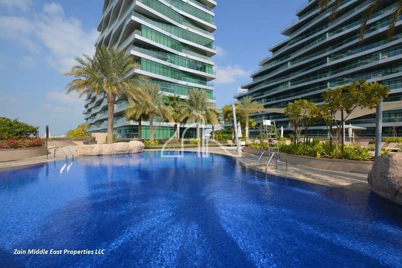 11 Sea View 2BR Apt with Balcony Fantastic Layout