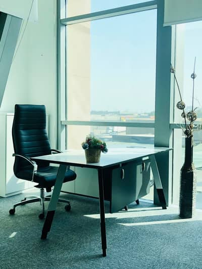 Office for Rent in Al Barsha, Dubai - Burj Al Arab View - Furnished Executive Office @ 20k  - The Best Solution For Your Business Setup/License Renewal!