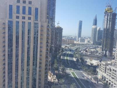 فلیٹ 3 غرفة نوم للايجار في وسط مدينة دبي، دبي - High Floor!! Spacious!! 3 bedroom For Rent in Claren Tower 1
