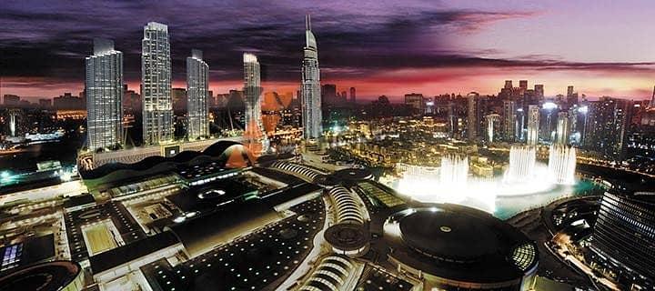 47 Uninterrupted Burj Khalifa View|Square Layout