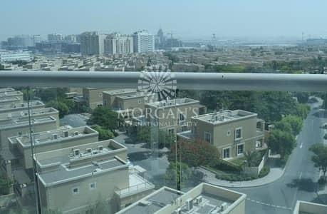 استوديو  للايجار في واحة دبي للسيليكون، دبي - Cozy studio with balcony on high floor