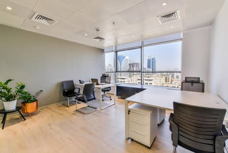 Office for Rent in Barsha Heights (Tecom), Dubai - Convenient Option for Flexi Desk  at affordable Cost Located in The Greens - Al Barsha