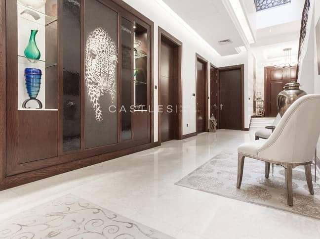 2 Fully Furnished- Dahlia 6 bed+study+maids- Al Barari