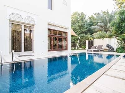 فیلا 6 غرفة نوم للايجار في البراري، دبي - Fully Furnished- Dahlia - 6 bed+study+maids+drivers