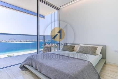 شقة 2 غرفة نوم للايجار في نخلة جميرا، دبي - Brand New Modern 2 BR Burj Al Arab Sea View
