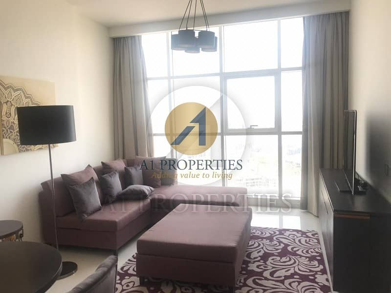 2 Spacious Brand New Furnished 1BR on High Floor
