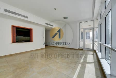 2 Bedroom Apartment for Rent in Dubai Marina, Dubai - Huge 2BR with Balcony in Mag 218 Community View