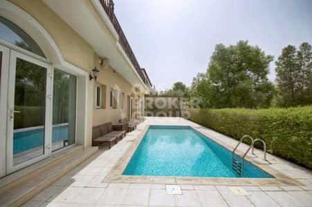 5 Bedroom Villa for Rent in Jumeirah Golf Estate, Dubai - Vacant | Rare Layout | Golf Course View