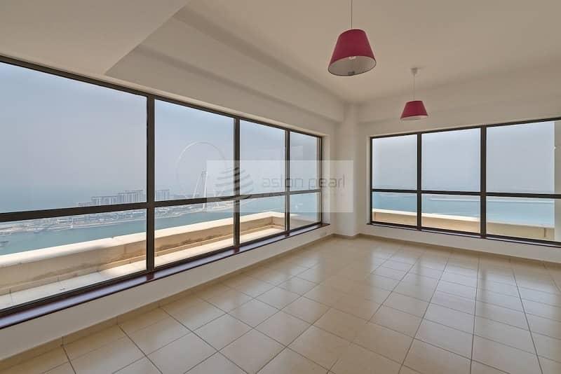 2BR En-suite| Best Sea View in JBR| Available Now!