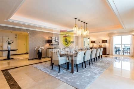بنتهاوس 5 غرف نوم للايجار في دبي مارينا، دبي - Luxury Furnishing|High Floor|Full Sea & Palm view