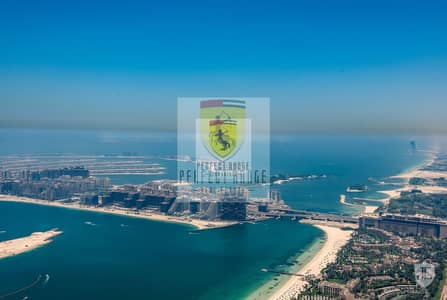 4 Bedroom Penthouse for Rent in Dubai Marina, Dubai - Amazing Full Sea View with Private Pool|Unfurnished