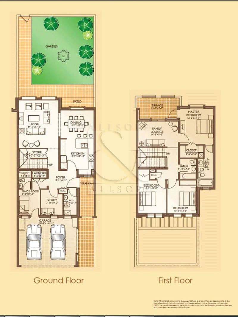 10 Available | 3 Bedrooms | Maids and Study