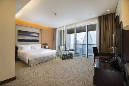استوديو  للبيع في وسط مدينة دبي، دبي - Full Burj Khalifa View | Well-price Unit