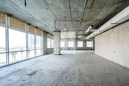 مکتب  للايجار في الخليج التجاري، دبي - Shell and Core | Full Floor | Low Floor