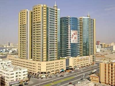فلیٹ 2 غرفة نوم للايجار في عجمان وسط المدينة، عجمان - 2Bhk فسيحة جدا للايجار في أبراج هورايزون مع وقوف السيارات في 34000 فقط